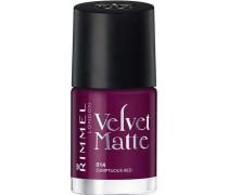 Make-up Nägel Velvet Matte Nailpolish Nr. 013 Velvet Touch