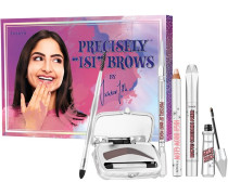 Augenbrauen Precisely Easy Brows by Ischtar Influencer Brow Kit High Glow 2;8 g + Fool Proof Powder Nr. 5 2 My Pencil 4.5 0;08 Browvo! Conditioning Primer 3 ml Gimme Blender