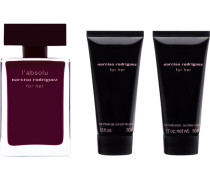 Damendüfte for her l'absoluGeschenkset Eau de Parfum Spray 50 ml + Body Cream 50 ml + Shower Gel 50 ml