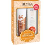Haarpflege Revlonissimo 45 Days Revlonissimo Dream Team Set Intense Coppers 45 Days Intens Coppers (275ml) + Revlon Nutri Color Mandarine 400 (100ml)