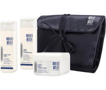 Beauty Haircare Pashmisilk Pashmisilk Set Silky Hair Bath 200 ml + Silky Milk Conditioner 200 ml + Silky Cream Mask 125 ml + Kulturtasche