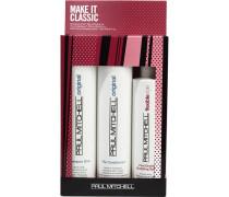 Haarpflege Original Make it Classik - Original / Style Set The Conditioner 300 ml + Freeze and Shine Super Spray 250 ml + Shampoo One 300 ml