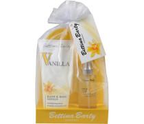 Damendüfte Vanilla Geschenkset Eau de Toilette Spray 50 ml + Hand & Body Lotion 150 ml