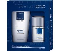Herrenpflege Evolution Geschenkset Eau de Toilette Spray 30 ml + Body & Hair Shampoo 75 ml