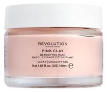 Gesichtspflege Masken Pink Clay Detoxifying Mask