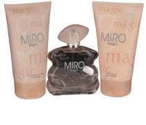 Damendüfte Magic Geschenkset Body Lotion 150 ml + Eau de Parfum 75 ml + Shower Gel 150 ml