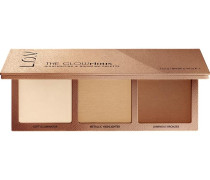 Make-up Teint The Glowrious Highlighting & Bronzing Palette Nr. 020 Gold Addiction