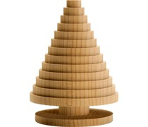 Collection Natale Weihnachtsbaum Zeder 7;5 x 10 cm