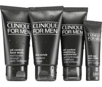 Herrenpflege Herrenpflege Essential Oil Control Kit Face Scrub 40 ml + Oil Control Face Wash 50 ml + Oil Control Moisturizer 40 ml + Anti-Age Eye Cream 15 ml
