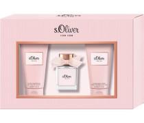 Damendüfte For Her Geschenkset Eau de Toilette Spray 30 ml + Luxury Shower Gel 75 ml + Luxury Body Lotion 75 ml