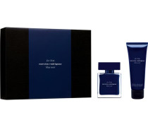 Herrendüfte for him Bleu NoirGeschenkset Eau de Toilette Spray 50 ml + Shower Gel 75 ml