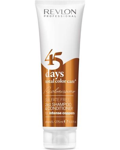Haarpflege Revlonissimo 45 Days Shampoo & Conditioner Intense Coppers