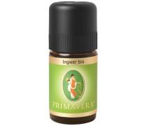 Aroma Therapie Ätherische Öle bio Ingwer