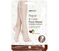 Pflege Körperpflege Repair & Care Foot Mask Cocoa Butter 1 Paar