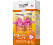 Körperpflege Body SPA Duschpflege Bio-Orange & Bio-Sanddorn Vitalisierende Momente Set Shower Gel 200 ml + Body Lotion 200 ml
