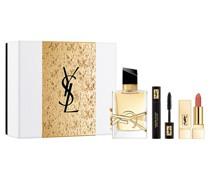 Libre Geschenkset Eau de Parfum Spray 50 ml + Mascara Volume Effet Faux Cils N°1 2 Rouge Pur Couture Lipstick N°70 1;3 g