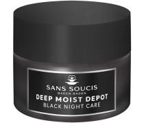 Pflege Deep Moist Depot Schwarze Nachtpflege Creme