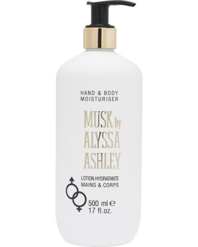 Musk Hand & Body Lotion mit Pumpspender