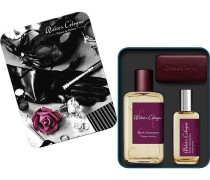 Collection Matières Absolues Rose Anonyme Necessaire Absolue Cologne Absolue Spray 100 ml + Cologne Absolue Spray 30 ml + Leder-Etui