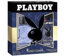 Herrendüfte King Of The Game Geschenkset Eau de Toilette Spray 60 ml + 24h Deodorant Body Spray