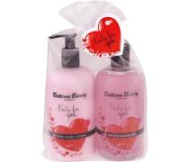 Pflege Fruit Line Geschenkset Hand & Body Lotion 500 ml + Shower Gel 500 ml