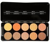 Make-up Augen Shadow Profi Set - Romana Enthält folgende Lidschattenfarben 05w-c; 06w-c; 12w; 13w; 17w; 18w; 25w; 53w-c; 54w; 58w