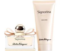 Damendüfte Signorina Eleganza Geschenkset Eau de Parfum Spray 50 ml + Body Lotion 100 ml