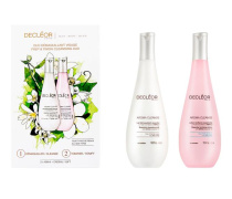 Gesichtspflege Aroma Cleanse Duo Démaquillant Visage Aroma Cleanse Lait Démaquillant Essentiel 400 ml + Aroma Cleanse Lotion Tonifiante Essentielle 400 ml