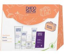 Pflege PurDerm Reiseset Effekt-Creme 50 ml + Wasch-Creme 25 ml + Klärungs-Tonic 15 ml + Peel-Maske 20 ml + Probe Hypersensitive Make-up Beige