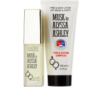 Unisexdüfte Musk Geschenkset Eau de Parfum Spray 25 ml + Hand & Body Lotion 100 ml