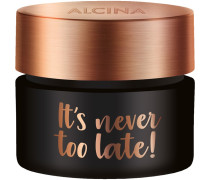 Kosmetik Effekt & Pflege It's Never Too Late! Anti-Falten-Gesichtscreme