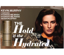 Haarpflege Hydrate Me The Hold & The Hydrated Hydrate Me Wash + Hydrate Me Rinse + Session Spray