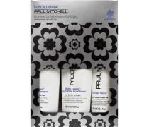 Haarpflege Curls Curls Holiday Gift Set Trio Frizz-Fighting Shampoo 250 ml + Frizz-Fighting Conditioner 200 ml + Ultimate Wave 150 ml