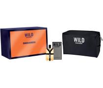Herrendüfte Wild Geschenkset Eau de Toilette Spray 50 ml + Kosmetiktasche