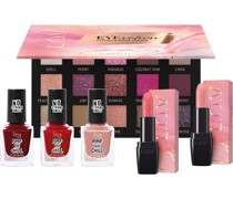 Make-up Nägel Geschenkset Eyevotion Extended Eyeshadow 26 g + Lipaffair Sheer Lipstick 3;7 ipaffair Nail laquer 3 x 15 ml