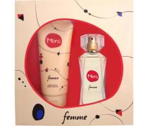 Damendüfte Femme Geschenkset Eau de Parfum 50 ml + 100 ml Bodylotion
