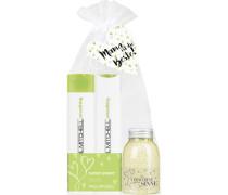 Haarpflege Smoothing Muttertagsset Super Skinny Daily Shampoo 300 ml + Super Skinny Conditioner 300 ml + Badesalz Lemongrass