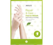 Pflege Körperpflege Repair & Care Hand Mask Green Tea 1 Paar