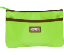 Kosmetiktasche Green Microfiber Cosmetic Bag