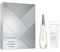 L'Eau d'Issey Pure Geschenkset Eau de Parfum Spray 50 ml + Body Lotion 100 ml