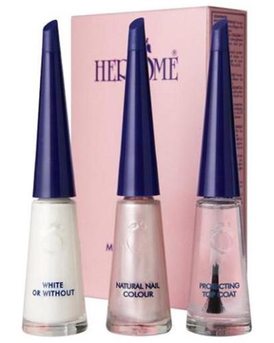 Nagel Dekoration French Manicure Set Pink