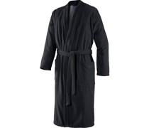 Herren Kimono Schwarz Größe 58/60; Länge 125 cm