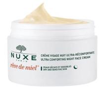 Gesichtspflege Nährende Pflege Rêve de Miel Ultra Comforting Night Face Cream Für trockene und sensible Haut