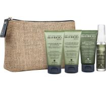 Bamboo Kollektion Shine Shine Travel Set On The Go Luminous Shine Shampoo (40ml) + Luminous Shine Conditioner (40ml) + Silk-Sleek Brilliance Cream (40ml) + Luminous Shine Mist (25ml)