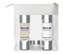 Pflege Treatment Sets Start your Spirit Set Natural Peel med 30 ml + Collagen Extreme 30 ml + Extra Rich Face Cream 5 ml