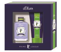 Herrendüfte Prime League Men Geschenkset Eau de Toilette Spray 30 ml + Energizing Shower & Shave Shampoo 75 ml