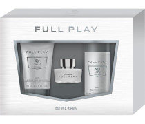 Herrendüfte Full Play Geschenkset Eau de Toilette Spray 30 ml + Body & Hair Shampoo 75 ml + Deoorant Spray 50 ml