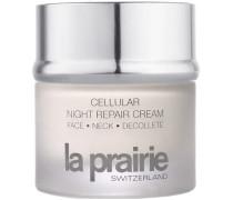 Hautpflege Feuchtigkeitspflege Cellular Night Repair Cream Face Neck Decollete