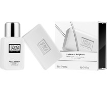 Gesichtspflege The White Marble Collection Cleansing Set Cleansing Oil 60 ml + Treatment Bar 50 g