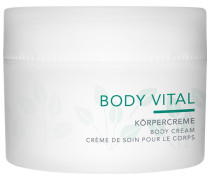 Pflege Body Vital Körpercreme